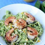 Avocado Basil Zucchini Noodles