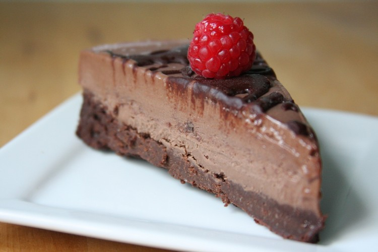 Chocolate Brownie Ice Cream Cake