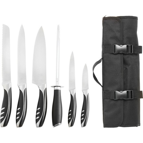 Ergonomically designed handles with traveling storage case  sc 1 st  Food Lovers & 10 Best Chefu0027s Knife Sets Reviewed [2018] - Food Lovers
