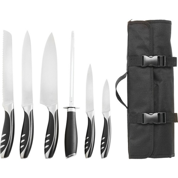 slitzer germany 7pc chefu0027s cutlery set global chefs knife - Chef Knives Set