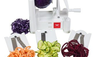3 Best Spiralizer Reviews with Tasty Recipes