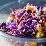 Sweet Salty Cabbage Salad