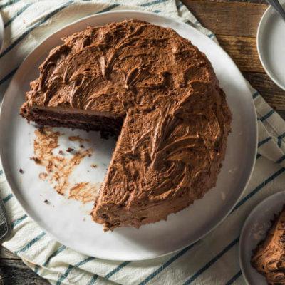Chocolate Fudge Gluten-Free Cake