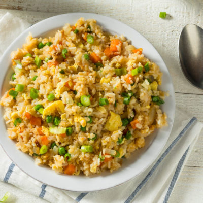 Instant Pot Vegetable Rice Recipe